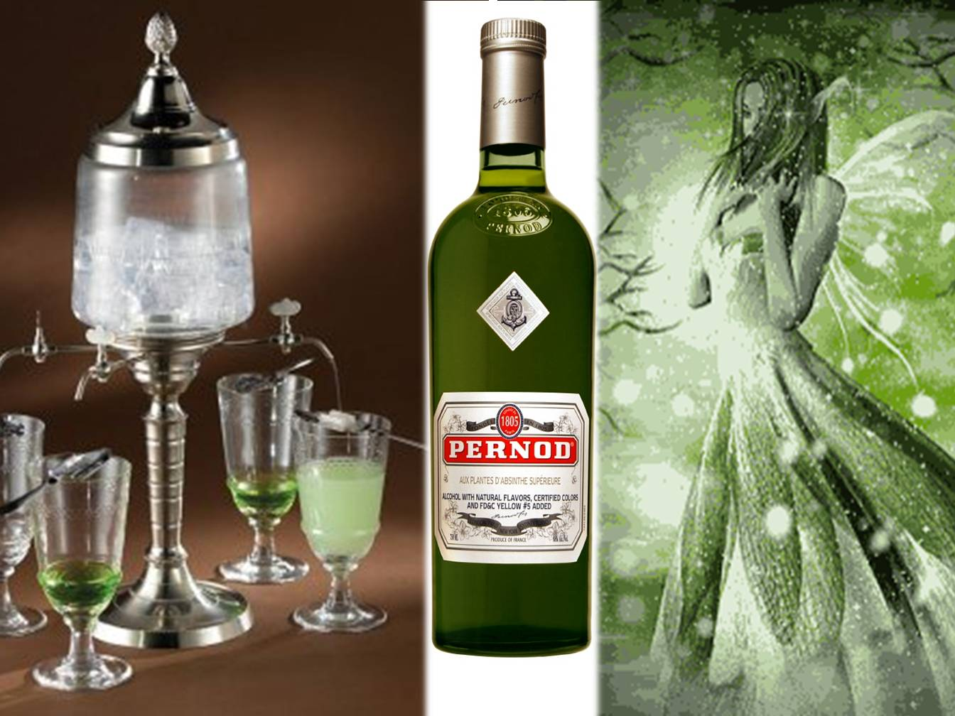 PE Labellers - LIQUEURS: THE RETURN OF THE GREEN FAIRY